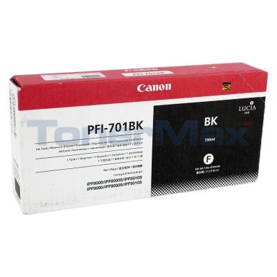 CANON PFI-701BK INK BLACK 700ML